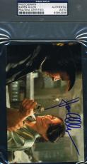 Karen Allen Raiders Lost Ark Hand Signed Psa/dna Photo Authenticated Autograph