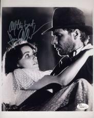 Karen Allen Raiders Of The Lost Arc Signed Jsa 8x10 Photo Authentic Autograph