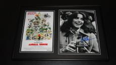 Karen Allen Signed Framed 12x18 Photo Display AW Animal House