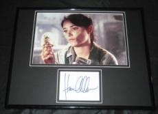 Karen Allen Signed Framed 11x14 Photo Display JSA Indiana Jones