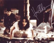 KAREN ALLEN signed *Indiana Jones: Raiders of the Lost Ark* 8X10 W/COA Marion #1