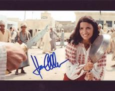KAREN ALLEN signed *Indiana Jones: Raiders of the Lost Ark* 8X10 W/COA Marion #3