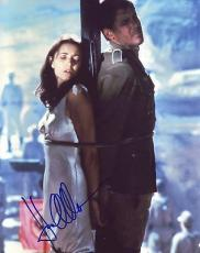 KAREN ALLEN signed *Indiana Jones: Raiders of the Lost Ark* 8X10 W/COA Marion #8