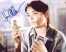 KAREN ALLEN signed *Indiana Jones: Raiders of the Lost Ark* 8X10 W/COA Marion #9