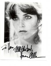 Karen Allen-signed photo