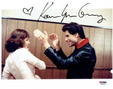 Karen Lynn Gorney w/ John Travolta Signed SNF Authentic 8x10 Photo PSA/DNA #1
