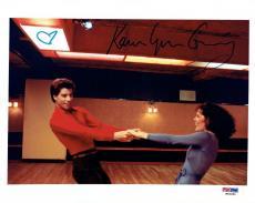 Karen Lynn Gorney w/ John Travolta Signed SNF Authentic 8x10 Photo PSA/DNA #2
