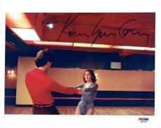 Karen Lynn Gorney w/ John Travolta Signed SNF Authentic 8x10 Photo PSA/DNA #3