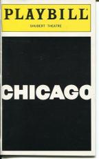 Karen Ziemba Roz Ryan Rare Chicago Cast Signed Autograph Playbill