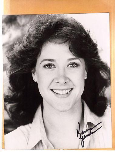 Karen Ziemba-signed photo-17