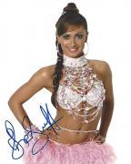 "KARINA SMIRNOFF (PRO BALLROOM DANCER) Winner of the Thirteenth Season of ""DANCING WITH THE STARS"" with J.R. MARTINEZ - Signed 8x10 Color Photo"
