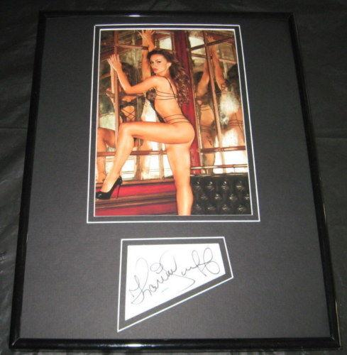 Karina Smirnoff Signed Framed 11x14 Lingerie Photo Display AW DWTS