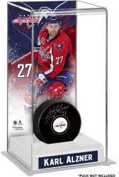 Karl Alzner Washington Capitals Deluxe Tall Hockey Puck Case