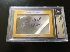 Karl Malden 2014 Leaf Masterpiece Cut Signature autographed auto signed card 1/1