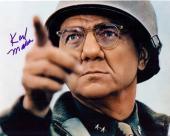 Karl Malden autographed 8x10 photo (Patton WWII Movie as General Omar Bradley US Army)