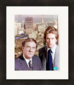 Karl Malden autographed 8x10 photo (The Streets of San Francisco) Image #1 Matted & Framed