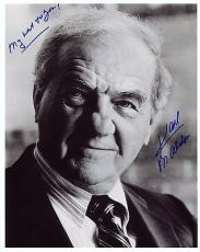 KARL MALDEN HAND SIGNED 8x10 PHOTO+COA     STREETS OF SF    HOLLYWOOD LEGEND