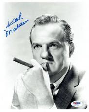 Karl Malden Signed Authentic Autographed 8x10 Photo PSA/DNA #X67771