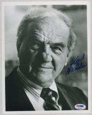 KARL MALDEN SIGNED AUTOGRAPHED PSA DNA 8x10 PHOTO AUTO P63407