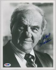 KARL MALDEN SIGNED AUTOGRAPHED PSA DNA 8x10 PHOTO AUTO P63428
