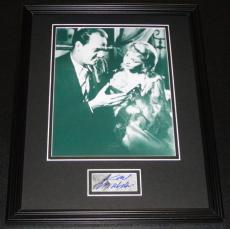 Karl Malden Signed Framed 11x14 Photo Display
