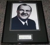 Karl Malden Signed Framed 11x14 Photo Display JSA