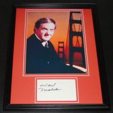 Karl Malden Signed Framed 11x14 Photo Display Streets of San Francisco C