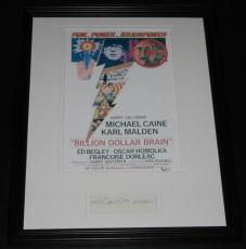Karl Malden Signed Framed 11x14 Photo Poster Display Billion Dollar Brain