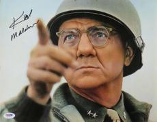 Karl Malden Signed Patton Authentic Autographed 11x14 Photo PSA/DNA #X31843