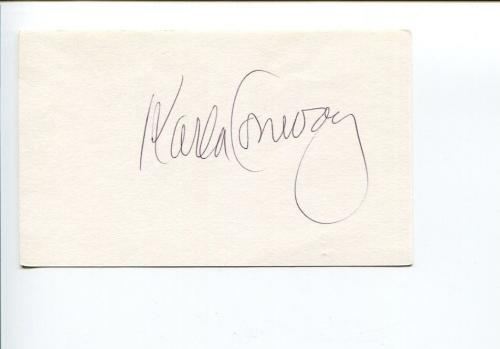 Karla Conway Playboy Playmate Of The Month April 1966 Signed Autograph