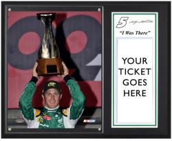 "Kasey Kahne 2012 Coca Cola 600 Sublimated 12'' x 15''""I Was There"" Photo Plaque - Mounted Memories"