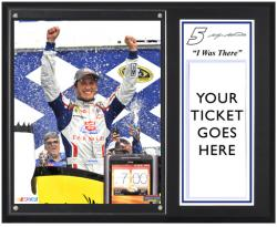 "Kasey Kahne 2012 LENOX Industrial 301 Sublimated 12"" x 15"" I Was There Photo Plaque"