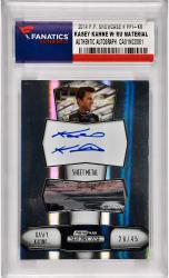 Kasey Kahne Nascar Autographed 2011 Press Pass Showcase #PPI-KK Card /45 with Race Used Sheet Metal