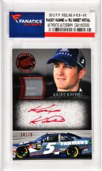 Kasey Kahne Nascar Autographed 2012 Press Pass Redline #RLR-KK Card with a Piece of Race Used Sheet Metal Limited to 75