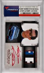 Kasey Kahne Nascar Autographed 2014 Press Pass Redline #RRSE-KK Card /25 with Race Worn Firesuit