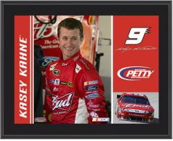 Kasey Kahne 10.5'' x 13'' Sublimated Plaque - Mounted Memories