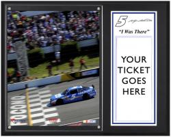 "Kasey Kahne 2013 GoBowling.com Sublimated 12"" x 15"" I Was There Plaque"