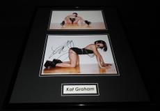 Kat Graham Signed Framed 16x20 Photo Display AW The Vampire Diaries