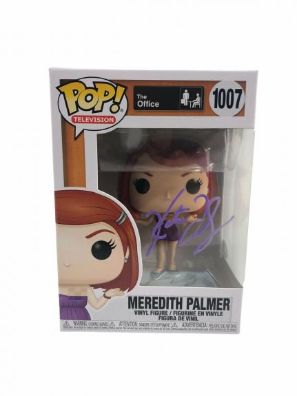 Kate Flannery Autograph Funko POP The Office Meredith Palmer Signed JSA COA 2