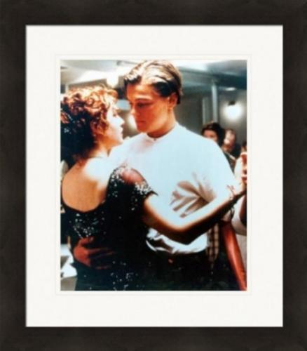 Kate Winslet and Leonardo DiCaprio 8x10 photo (Titanic) Image #2 Matted & Framed