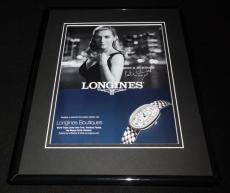 Kate Winslet Facsimile Signed Framed 2016 Longines Advertising Display