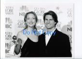 Kate Winslet Tom Cruise 58th Annual Golden Globes NBC TV Original Press Photo