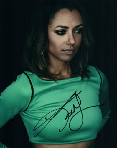 Katerina (kat) Graham The Vampire Diaries Autographed Photo UACC RD AFTAL RACC T