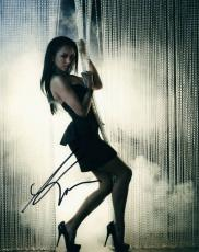 Katerina (kat) Graham The Vampire Diaries Autographed Signed Photo UACC RD AFTAL