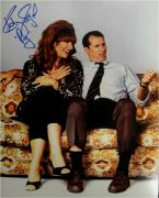 Katey Sagal Hand Signed Autographed 11x14 Photo Married With Children PEG