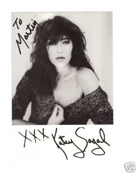 Katey Sagel-signed photo- Pose 60 - JSA COA
