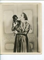 Katharine Cornell Broadway Theater Actress Signed Autograph Photo