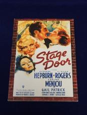 Katharine Hepburn Ginger Rogers 2009 Panini Americana Movie Poster Relic Swatch