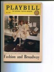 Katharine Hepburn Sweeney Todd Fashion And Broadway May 1984 Playbill