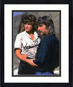 Katharine Ross signed Vintage 8x10 Photo Best Wishes- JSA Hologram #DD39184 (w/ Sam Elliott)
